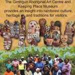 Girringun Art Centre Quarter page